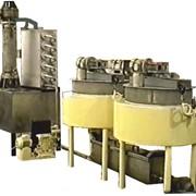 Механизированная станция с пленочным аппаратом для приготовления мелкокристаллической помады марки Ш-3085 фото