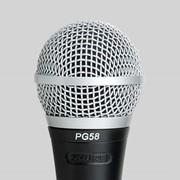 Проводной микрофон Shure PG58 Dynamic Vocal Microphone фото