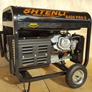 Бензогенератор Shtenli Pro S 8400, 6,5 кВт с электростартером фото