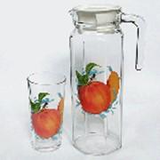 Набор для воды Персик 05с1256, 5 предметов фото
