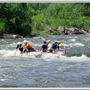 Сплав по реке (спортивный) фото