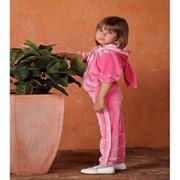 Одежда детская, Велюровый костюмчик Зайка фото