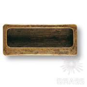 Ручка врезная современная классика, старая бронза 25.114.02.04 фото