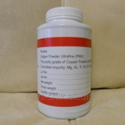 Порошок медный ультрадисперсный марки ПМУ 99.999%, в ПЭТ упаковке по 2 кг фото