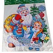 Плакат декоративный новогодний объемный 47х42 см., Е14028 фото