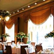Дизайн и пошив штор для гостиниц, ресторанов, кафе фото