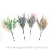 Цветок искусственный Вереск, L10 W10 H38 см, (3 вида - не набор) фото