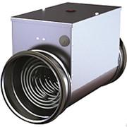 Воздухонагреватели электрические для круглых каналов серии ЭНК фото