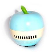 Мини пылесос Яблоко -голубое фото