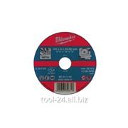 Диски PRO+ Milwaukee SC 42 / 125 x 3 x 22mm- 25шт по металлу отрезные фото