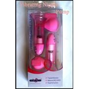 Вибро-помпы для груди (интимный стимулятор) Vibrating Nipple Pump фото