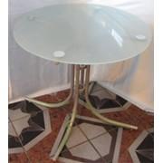 Стол стеклянный, обеденный арт. 363 фото
