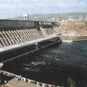Работы по восстановлению протечек в плотинах гидроэлектростанций фото