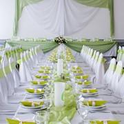 Украшение свадебного зала фото