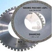 Диск режущий ТСТ для резки стали и алмазный диск для резки чугуна фото