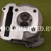 Головка цилиндра с клапанами (не в сборе) скутер 80 куб. TVR фото