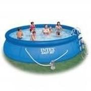 Бассейн надувной Intex 28166 (56409) Easy Set Pool 457*107 см + аксессуары, Intex 56409 фото