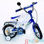 Велосипед двухколесный 12'' Аист синий фото