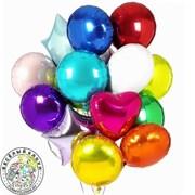 Фольгированные шары с гелием 18 дюймов фото