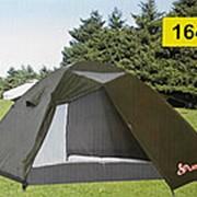 Трехместная туристическая палатка LANYU 1648 фото