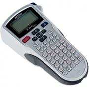 Ручной электронный принтер Brother PT-1010 для печати наклеек фото