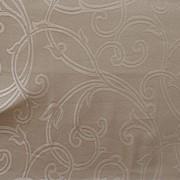 Ткань для постельного белья. Дизайн Jacquard Oyester ширина 295cm фото
