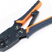 Инструмент обжимной Pleolan для коннекторов RJ45&RJ12&RJ11 (проф.,контроль усилия) фото
