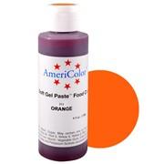 Гелевый краситель AmeriColor 128г. №213 Оранжевый Orange фото