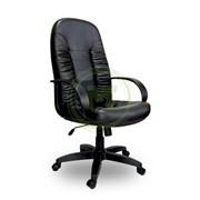 Офисное кресло AV 103 PL MK кожзам черный фото