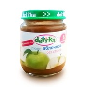 Пюре яблочное «dettka» фото