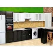 Кухня черно-белая фото