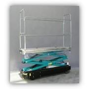Гидравлическая транспортная тележка для огурцов фото