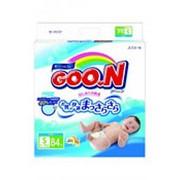 Подгузники GOON S 3 (4-8кг), 84 шт фото
