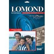 Полуглянцевая ярко-белая микропористая фотобумага для струйной печати, A4, 260 г/м2, 20 листов. фото