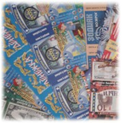 Изготовление лотерейных билетов фото