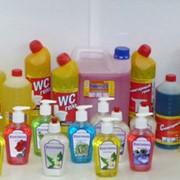 Продукция химическая бытовая. Жидкое мыло. фото