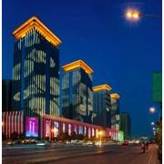 Архитектурная подсветка зданий Алматы фото