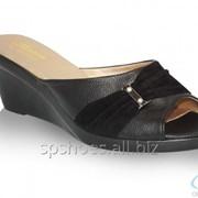 Сабо женские 1103-995, черный фото