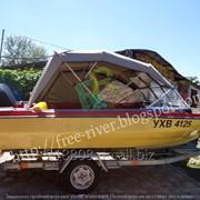 Пошив ходовых тентов для лодок фото