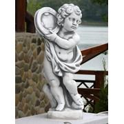 Скульптура Мальчик с бубном арт 285 фото