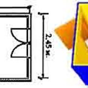 Блок-контейнеры БК-1(6х2,45х2,45м.) фото