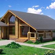 Дома из оцилиндрованного бревна 200-320 мм фото