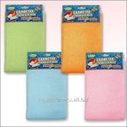 Салфетка-тряпка для мытья пола Эконом 50*60 3 цвета, код: 58.73 фото