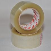 Клейкая лента упаковочна прозрачная фото