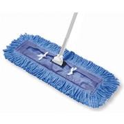 Тряпка для швабры из хлопка, сухая уборка Dust mop 40 cm фото