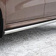Защита порогов Lada Xray фото