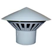 Грибок с раструбом 110 PVC серый фото