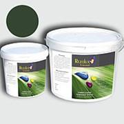 Резиновая краска Rezolux Universal /14 кг/ темно-зеленый 6020 фото
