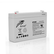 Аккумуляторная батарея AGM RITAR RT680, Gray Case, 6V 8Ah ( 151х34х94 (100) ) Q20 фото