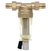 Фильтр самопромывной T-FH 1/2 дюйм ХВ Нова Вода, арт.10621 фото